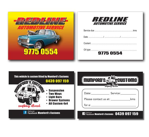 Auto Service Stickers Gsga